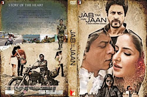 Jab Tak Hai Jaan DVD Cover